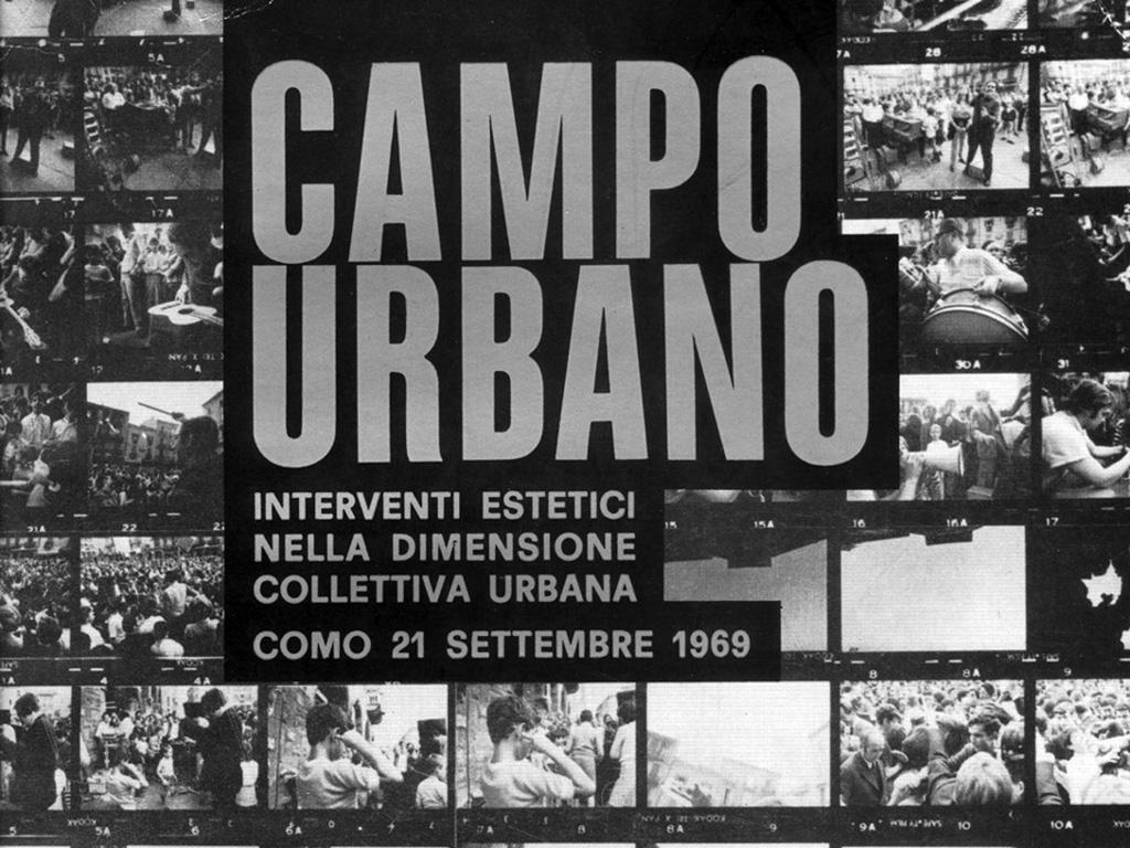 Campo Urbano. Copertina del catalogo